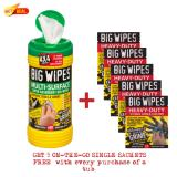Sale Multi Surface 4X4 Big Wipes 80S Tub Big Wipes Online