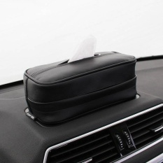 Sale Multifunction Car Universal Luxury European Style Pu Leather Home Office Hotel Car F*c**l Tissue Box Case Holder Intl