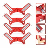 Multifunction Red 75Mm Mitre Corner Clamps Picture Frame Holder Woodworking Tool Intl Lower Price