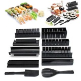 Multifunctional 10 In 1 Sushi Roll Maker Making Kit Mold Rice Roller Mould Set Intl In Stock