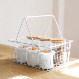 Sale Multifunctional Iron Storage Baskets Vegetable And Fruit Basket Clothing Holder Storage Kitchen Bathroom Accessories Jjcf202 Intl Oem Online