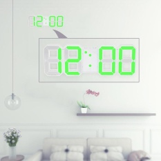 Get The Best Price For Multifunctional Large Led Digital Wall Clock 12H 24H Time Display With Alarm And Snooze Function Adjustable Luminance Intl