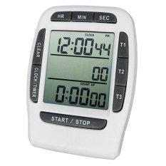 Great Deal Multifunctional Lightweight Premium Electronic Kitchen Timer Countdown Clock Stopwatch Intl