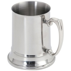 Sale Mylifeunit Double Walled Engraved Beer Mug Stainless Steel Tankard Beer Stein 16 Oz 1 Pint Intl Mylifeunit Online