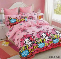 Low Cost Mymelody Cartoon Cotton Pink G*Rl S Bedsheet