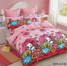 Cheap Mymelody Cartoon Cotton Pink G*rl S Bedsheet Online