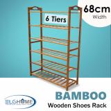Who Sells Natural Bamboo General 6 Tiers Shoe Rack 68Cm Width