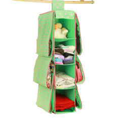 Buy New 4 Shelf 6 Pouch Multifunctional Wardrobe Hanging Handbag Storage Rack Handbag Organizer Storage Unit Sweater Organiser Cheap On China
