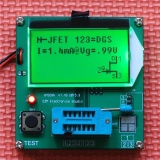 New All In 1 Component Tester Transistor Diode Capacitance Esr Meter Inductance Intl Cheap