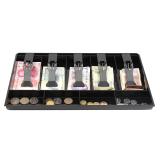 Price New Cash Coin Register Insert Tray Replacement Money Drawer Storage Black Intl Oem Original