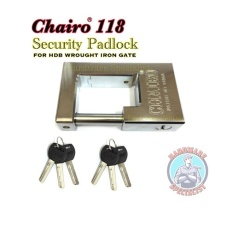 Get Cheap New Chairo 118 Security Metal Padlock For Both New Old Bto