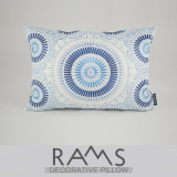 Classical Blue And White Circle Cushion By The Package Sale