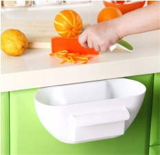 Review New Design Plastic Kitchen Mini Trash Can Over The Cabinet Waste Basket Garbage Rubbish Bin Intl China