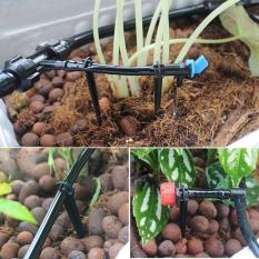 Compare Price New Diy Micro Drip Irrigation System Dripper Auto Plant Watering 15M Garden Hose Intl On China