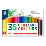 How To Buy Staedtler New Ergosoft 36Col Colour Pencil In Metal Tin Case
