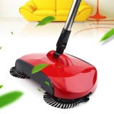 Sale New Hand Push Household Cleaning Floor Sweeper Broom Sweeping Machine Without Electricity Red Intl