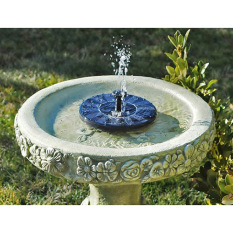 New Solar Powered Water Pump Fountain Garden Pool Watering SolarPump Kit Set