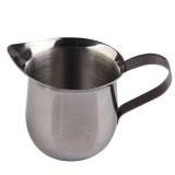 Sale New Stainless Steel Coffee Shop Small Milk Cream Waist Shape Cup Jug 3Oz On China