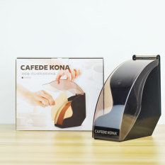 Compare New Style Cafede Kona With Dust Cover Filter Paper Frame Filter Carton Coffee Hall Fan Filter Paper Box With Lid Moisture Prices