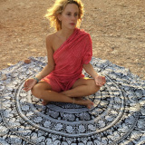 Top 10 B*k*n* European And American New Style Large Round Yoga Mat