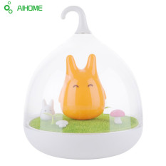 Discount Newest Design Night Lamp Totoro Cute Portable Touch Sensor Usb Led Lights For Baby Bedroom Sleep Lighting Art Decor Orange Oem China