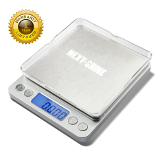 New Next Shine 500G 01G 001Oz Top Digital Pocket Kitchen Food Jewelry Weight Compact Scale With Tare Function Stainless Steel Intl