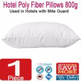 Price Comparisons Nile Valley Budget Hotel Poly Fiber Pillow With Mite Guard