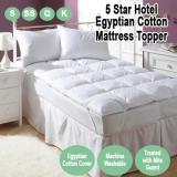 Best Offer Nile Valley S 5 Star Hotel Egyptian Cotton Maxi Protection Cool Mattress Toppers For A Good Night Sleep