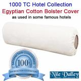 Where To Buy Nile Valley S 1000 Thread Count Egyptian Cotton Round Bolster Covers