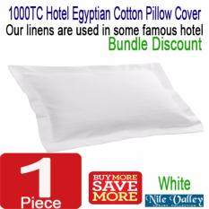 Buy Nile Valley S 5 Star Hotel 1000 Thread Count Egyptian Cotton Pillow Cover Exclusive Quality Nile Valley Original