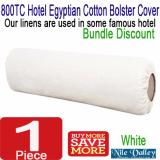 Store Nile Valley S 800Tc Hotel High Thread Count Egyptian Cotton Bolster Cover Nile Valley On Singapore
