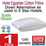 Sale Nile Valley S Egyptian Cotton Down Alternative Pillow 1200G As Used In 5 Star Hotel Nile Valley Wholesaler