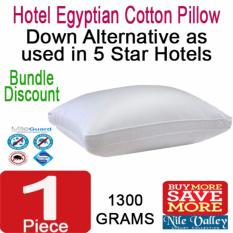 Nile Valley S Egyptian Cotton Down Alternative Pillow 1300G As Used In 5 Star Hotel Singapore