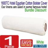 Sale Nile Valley S Hotel 1600 Thread Count Egyptian Cotton Bolster Cover Premium Quality Nile Valley Branded