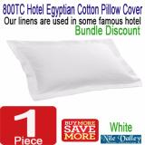 Lowest Price Nile Valley S Hotel 800 Thread Count Egyptian Cotton Pillow Cover