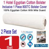 Nile Valley S Hotel Collection Egyptian Cotton Bolster 1300G Inclusive 1 Egyptian Bolster Covers Shopping
