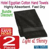 Sale Nile Valley S Hotel Egyptian Cotton Hand Towel White Thin And Thirsty Highly Absorbent Singapore Cheap