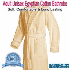Nile Valley s Hotel Unisex Egyptian Cotton Bathrobe for Adult(Single) 8602b71ab