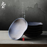 Get The Best Price For Nine Soil Handmade Tea Jingdezhen Ceramic Petal Saucer Cool Coasters Japanese Style Tea Cup Holder