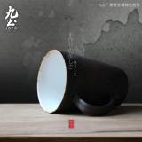 Who Sells Nine Soil Japanese Style Creative Mug Minimalist Ceramic Art Cup Office Cups Couple Ceramic Tea Cups Custom The Cheapest