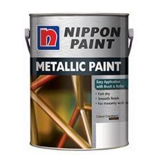 Sale Nippon Metallic Paint 1 Litre For Metal Wood Masonry Walls Smooth Finishing Paint Decorative Oem Cheap