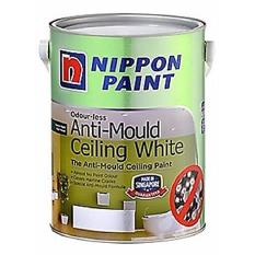 Latest Nippon Odour Less Anti Mould Ceiling White 1L