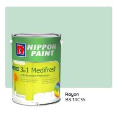 Nippon Paint 3-in-1 Medifresh BS 14C35 (Rayon) 1L