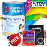 Best Rated Nippon Paint Easy Wash With Teflon 5L Lily White