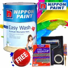 Best Reviews Of Nippon Paint Easy Wash With Teflon 5L White