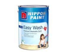 Nippon Paint Easy Wash with Teflon Base 1 Ash Grey 5037 5L