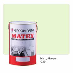 Nippon Paint Matex 029 (misty Green) 7l By Nippon Paint (singapore) Company Private Limited.
