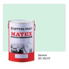 Nippon Paint Matex Bs 18e49 (serene) 7l By Nippon Paint (singapore) Company Private Limited.