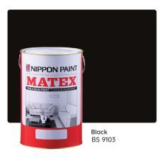 Sale Nippon Paint Matex Bs 9103 Black 7L Nippon Paint Wholesaler