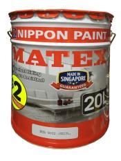 Nippon Paint Matex Emulsion White 9102 - 20L